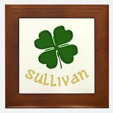 Irish Sullivan Framed Tile