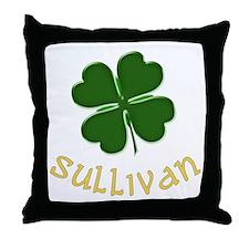 Irish Sullivan Throw Pillow