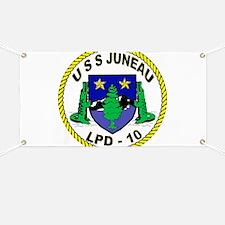 USS Juneau LPD 10 Banner