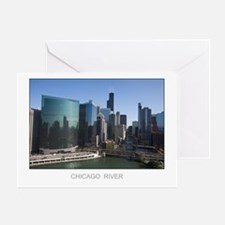 333 Wacker Drive Greeting Card