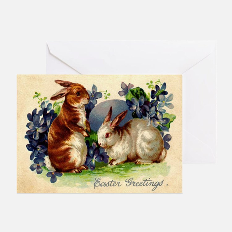 """Easter Bunnies"" Greeting Card"