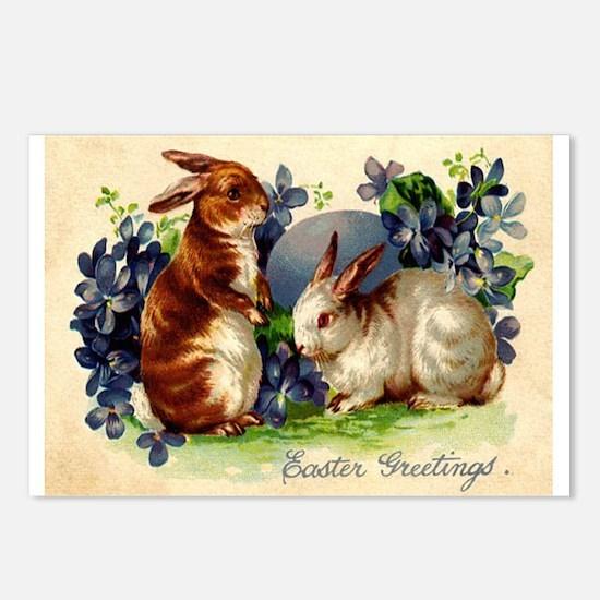 """Easter Bunnies"" Postcards (Package of 8"