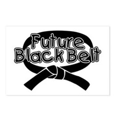 Future Black Belt 2 Postcards (Package of 8)