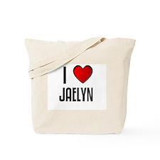 I LOVE JAELYN Tote Bag