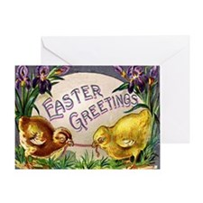 """""""Easter Chicks"""" Greeting Card"""