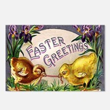 """""""Easter Chicks"""" Postcards (Package of 8)"""