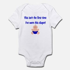 This isn't-with clothdiapered Infant Bodysuit