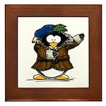 Shakespeare Penguin Framed Tile