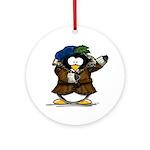 Shakespeare Penguin Ornament (Round)