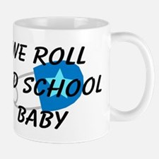 We roll old school Mug
