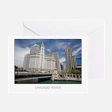 River Landmarks Greeting Card