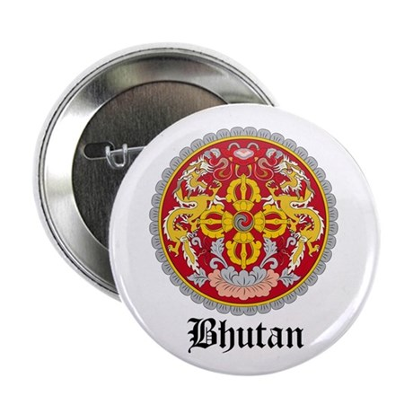 "Bhutanese Coat of Arms Seal 2.25"" Button (10 pack)"