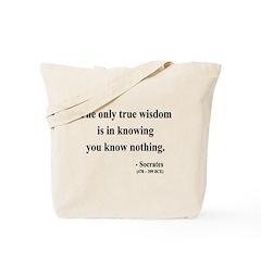 Socrates 3 Tote Bag