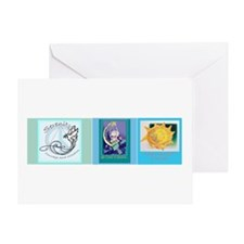 Recovery Triptic Greeting Card