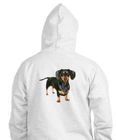 Crying Doxie Hoodie