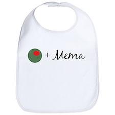 Olive Mema Bib