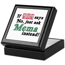 Just Ask Mema Keepsake Box