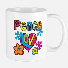 Peace and Love Mug