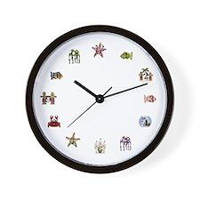 Beach Kids Wall Clock