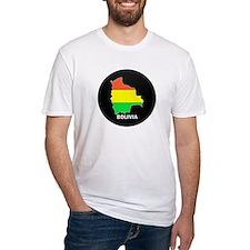 Flag Map of Bolivia Shirt