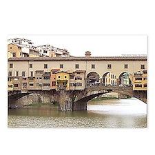 Cute Ponte vecchio Postcards (Package of 8)