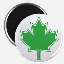 """Canada Goes Green 2.25"""" Magnet (100 pack)"""