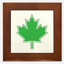 Canada Goes Green Framed Tile