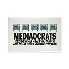 Mediacrats Rectangle Magnet