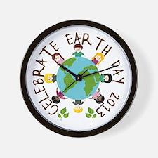 Earth Day 2013 Wall Clock