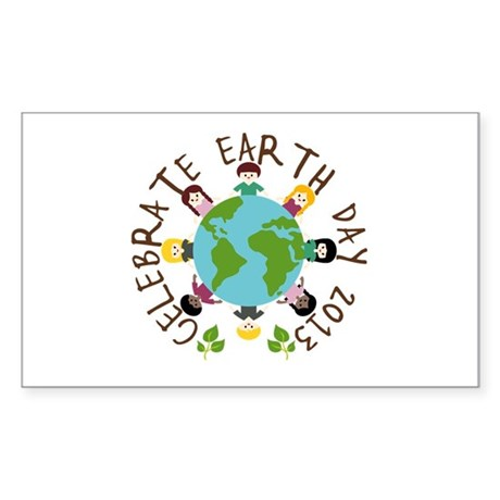 Earth Day 2013 Sticker (Rectangle)