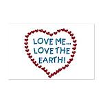 Love Me, Love the Earth Mini Poster Print