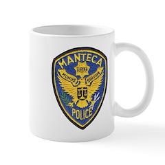 Manteca Police Mug