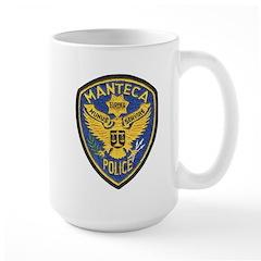 Manteca Police Large Mug