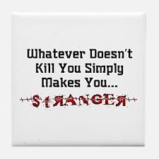 Joker - Stranger Tile Coaster