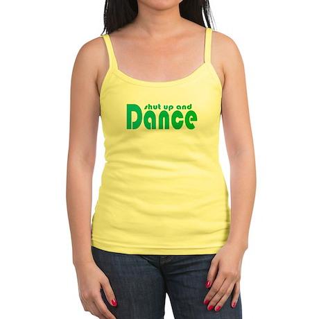 Shut up and Dance Jr. Spaghetti Tank