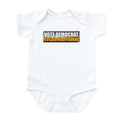 Vote Democrat Infant Bodysuit