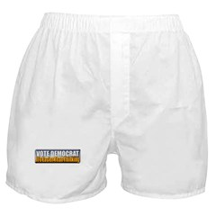 Vote Democrat Boxer Shorts