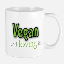 Vegan and loving it Mug