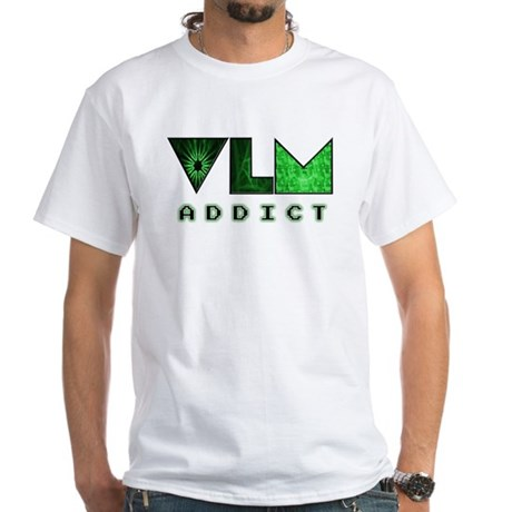 VLM Addict - White T-Shirt