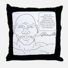 Sex humor Throw Pillow