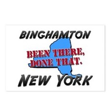 binghamton new york - been there, done that Postca