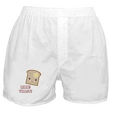 MMM! Toast Boxer Shorts