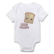 MMM! Toast Infant Bodysuit