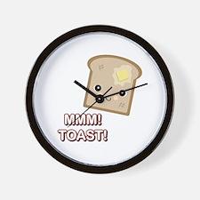 MMM! Toast Wall Clock