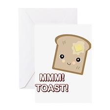 MMM! Toast Greeting Card