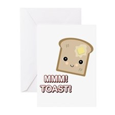 MMM! Toast Greeting Cards (Pk of 10)