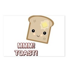 MMM! Toast Postcards (Package of 8)