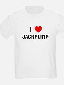 I LOVE JACKELINE Kids T-Shirt