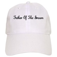 Father of the Groom Baseball Cap