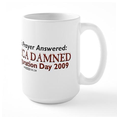 Wright's Prayer Answered Large Mug
